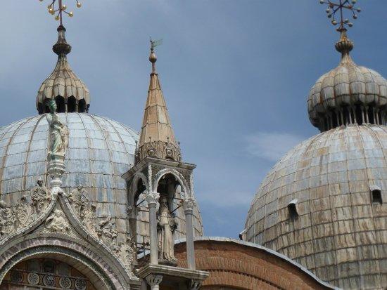 Markusdom (Basilica di San Marco): Detalhe das Cúpulas