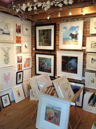 Wendover, UK: A view of the Gallery
