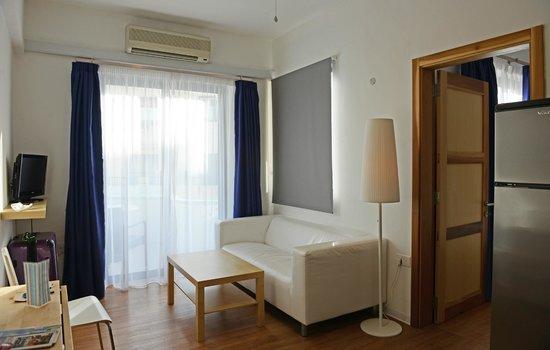 Park Lane Aparthotel: corner lounge