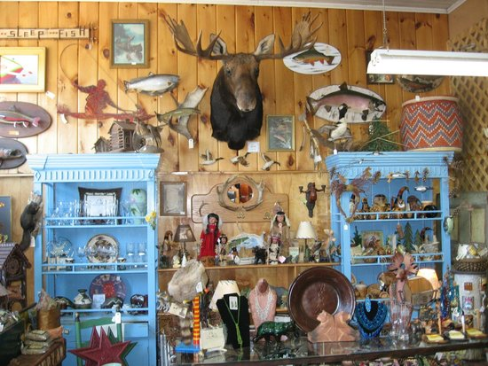 So Much To Look At Picture Of Moosehead Lake Indian Store