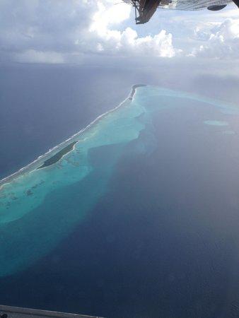 The Sun Siyam Iru Fushi Maldives: vista dall'idrovolante