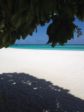 The Sun Siyam Iru Fushi Maldives : spiaggia