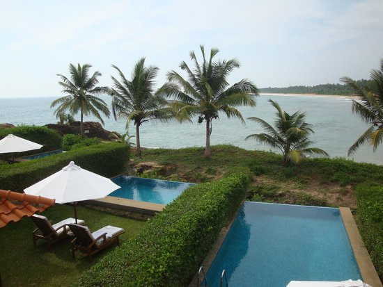 Saman Villas: Nice View From Our Villa