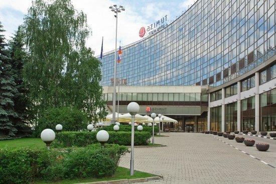 AZIMUT Hotel Olympic Moscow : Вид на гостиницу