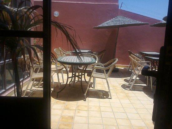 Riad Etoile d'Essaouira: Terrasse ensoleillee