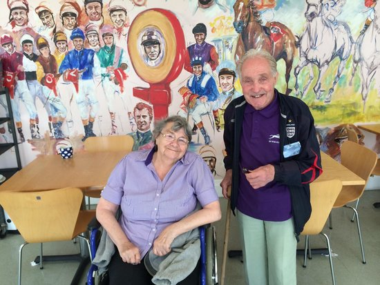 National Heritage Centre for Horseracing & Sporting Art: Mum with Alfie Westwood