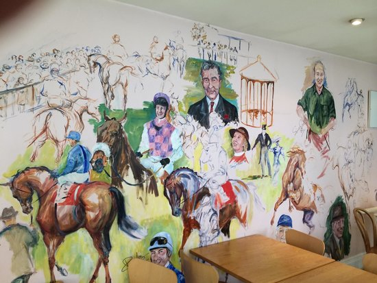 National Heritage Centre for Horseracing & Sporting Art: Racing Mural