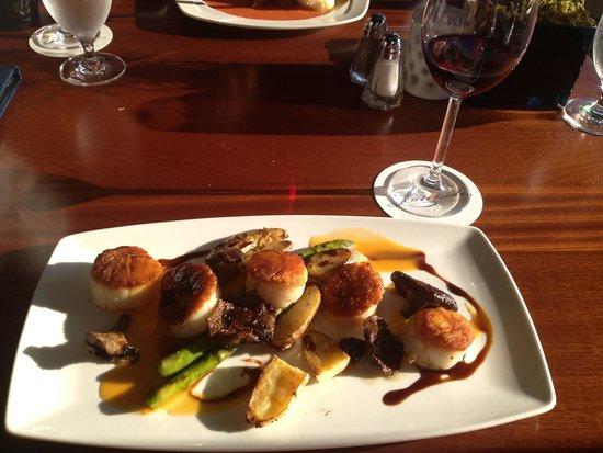 Latitudes Restaurant: Carmelized sea scallops