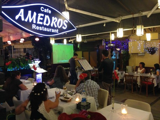 Amedros Cafe & Restaurant: World Cup comes to Amedros!