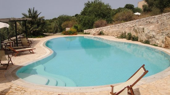 Relais Parco Cavalonga: der kleinere Pool
