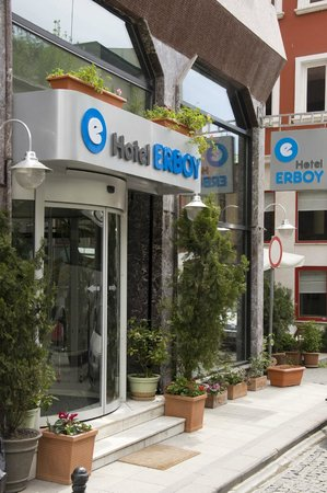 Erboy Hotel: Enterance