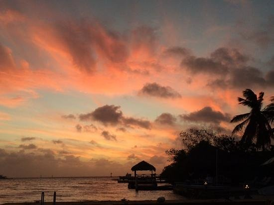 The Flying Fishbone: sunset view