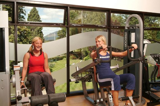 Lodore Falls Beauty Salon: Workout in the Lake View gym