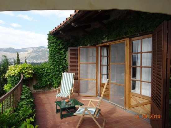 Il Glicine Bed & Breakfast Sul Golfo: b'fast terrace