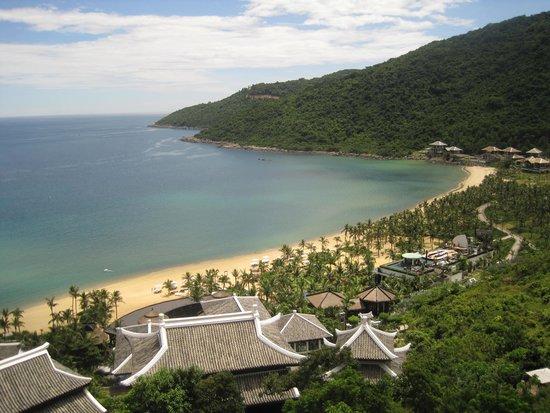 InterContinental Danang Sun Peninsula Resort : from my balcony