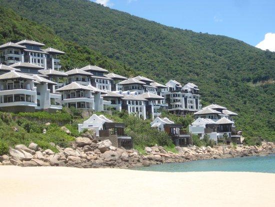 InterContinental Danang Sun Peninsula Resort : from the beach