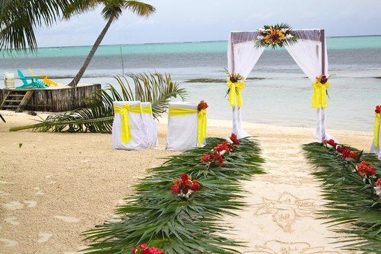 X'tan Ha Resort: Wedding