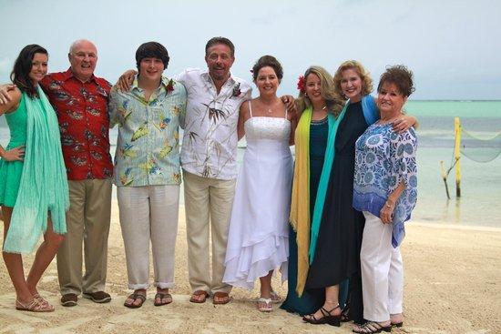 X'tan Ha Resort: Wedding party