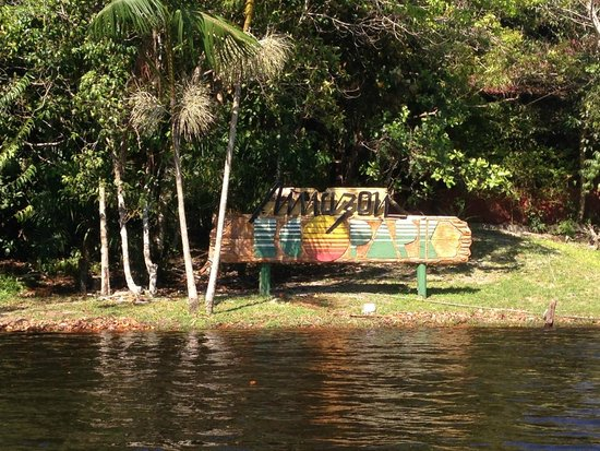 Amazon Ecopark Jungle Lodge: Vista da chegada