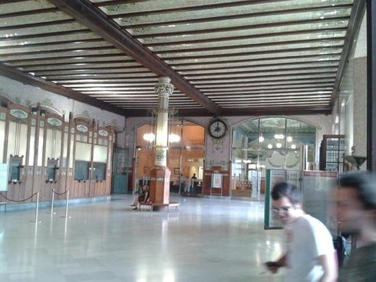 Estación del Norte: sala ventas