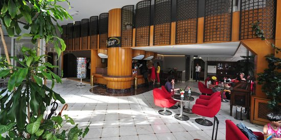 Erboy Hotel: Lobby and Reception