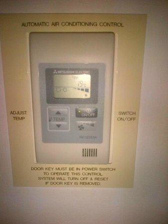 Leonardo Hotel London Heathrow Airport: Climate Control