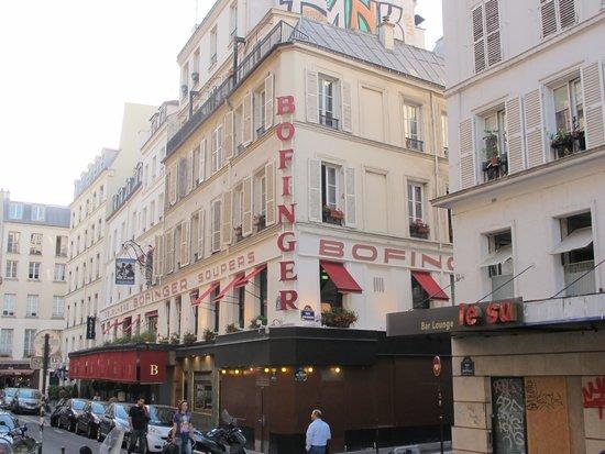 Brasserie Bofinger : The building