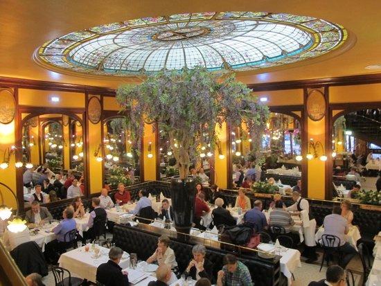 Brasserie Bofinger : Art Nouveau cuppola