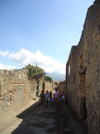 Scavi di Pompei: Улица