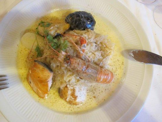 Brasserie Bofinger : Sea sauerkraut