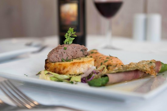 Martini Restaurant: Taster starter dish from our Tuscany cuisine night.