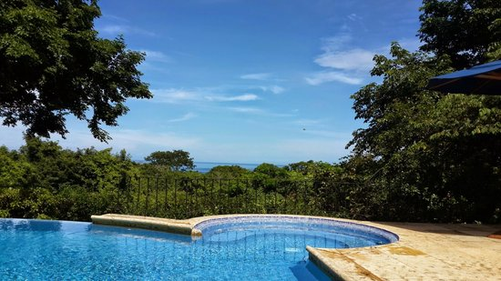 Hotel Luna Azul : View from pool