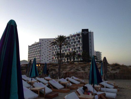 Hard Rock Hotel Ibiza: Hotel Tower