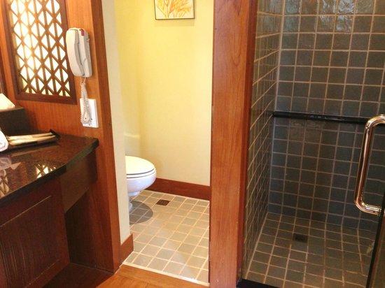 Sofitel Singapore Sentosa Resort & Spa: Separated toilet and bath area.