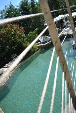 Eden Rock Resort: natuurlijk zwembad