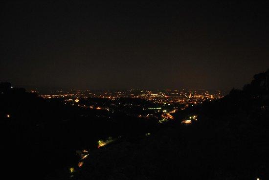Eden Rock Resort: uitzicht avond