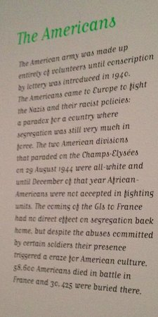 Musee Carnavalet: What they really think of Americans?  (from the photo exhibit on 1944 liberation of Paris