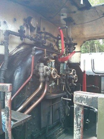 Ribble Steam Railway: Loco Cab