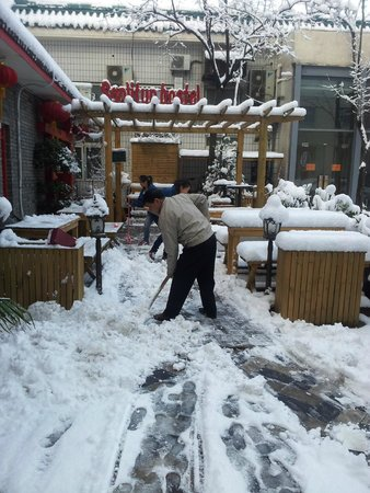 Sanlitun Huatong International Youth Hostel : Sanlintun in Winter