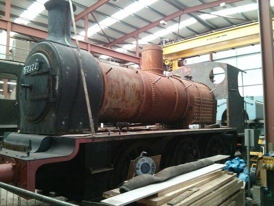 Ribble Steam Railway: Work in progress