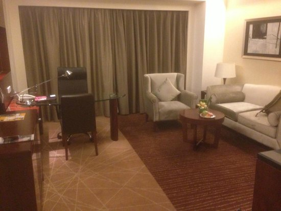 Crowne Plaza Beijing International Airport : Lounge area