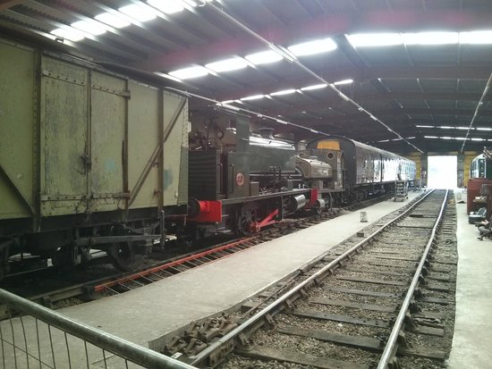 Ribble Steam Railway: Workshop