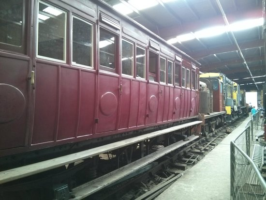 Ribble Steam Railway: Old Carriage
