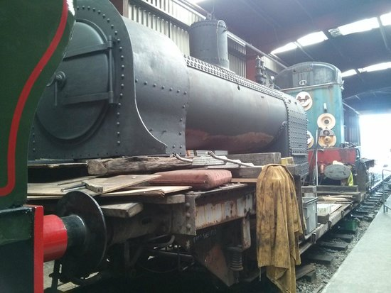 Ribble Steam Railway: Workshop