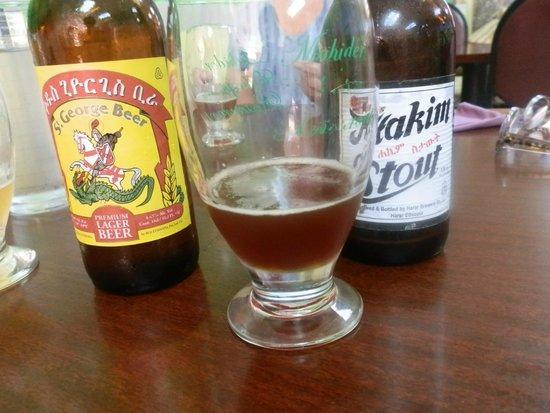 Mahider Ethiopian Restaurant & Market: Great beer!