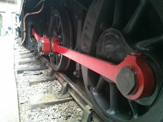 Ribble Steam Railway: Wheels