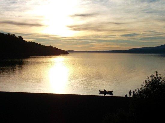 Gran Hotel Pucon: Lago Villarrica