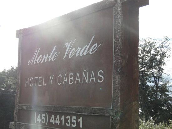 Hotel and Cabanas Monte Verde: Placa