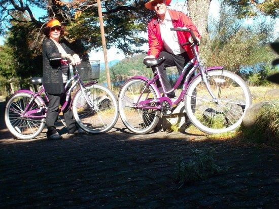 Gran Hotel Pucon: Bicicletas del hotel