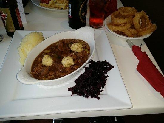 Springfield Hotel & Health Club: My main course